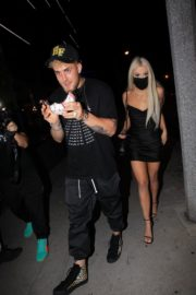 Tana Mongeau and Jake Paul at Alex Warren's Birthday Party in Hollywood 2020/09/18 7
