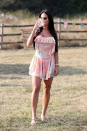 Yazmin Oukhellou on the Set of The Only Way is Essex 2020/09/15 2