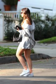 Addison Rae Arrives at a Friend's House in Los Angeles 2020/10/22 3