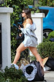 Addison Rae Arrives at a Friend's House in Los Angeles 2020/10/22 5