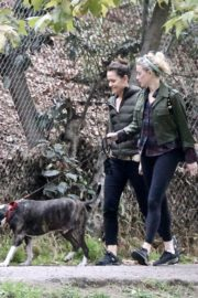 Amber Heard Out Hiking with Friend at Griffith Park 2020/10/26 2