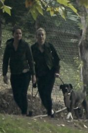 Amber Heard Out Hiking with Friend at Griffith Park 2020/10/26 3