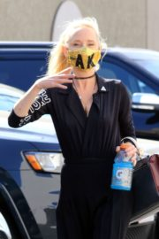 Anne Heche at a Dance Studio in Los Angeles 2020/10/02 1