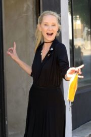 Anne Heche at a Dance Studio in Los Angeles 2020/10/02 3