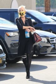 Anne Heche at a Dance Studio in Los Angeles 2020/10/02 4
