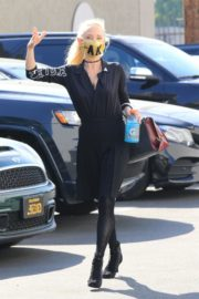 Anne Heche at a Dance Studio in Los Angeles 2020/10/02 6