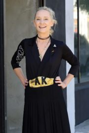Anne Heche at a Dance Studio in Los Angeles 2020/10/02 10