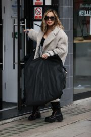 Arrives at Smooth Radio in London 2020/10/23 2