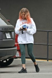 Ashley Benson Out for Coffee in Los Angeles 2020/10/22 2