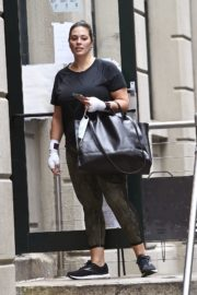 Ashley Graham Leaves a gym in New York 2020/10/02 8