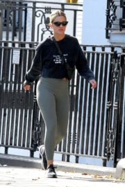 Ashley Roberts in Tights Out and About in London 2020/09/24 4