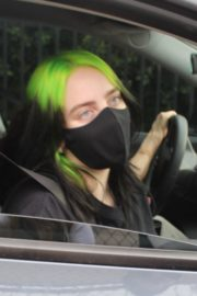 Billie Eilish Out After Her Virtual Concert in Los Angeles 2020/10/24 1