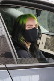 Billie Eilish Out After Her Virtual Concert in Los Angeles 2020/10/24 2