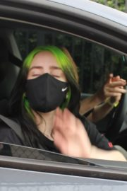 Billie Eilish Out After Her Virtual Concert in Los Angeles 2020/10/24 4
