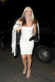 Caprice Bourret Arrives at Proud Embankment in London 2020/10/23 11