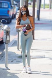 Chantel Jeffries in Tights Arrives at a Gym in West Hollywood 2020/09/25 9