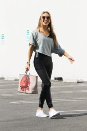 Chrishell Stause at DWST Studio in Los Angeles 2020/10/20 6
