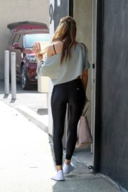 Chrishell Stause at DWST Studio in Los Angeles 2020/10/20 7