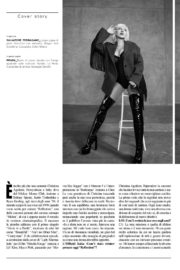 Christina Aguilera in L'Officiel Italy, Fall 2020 Issue 2