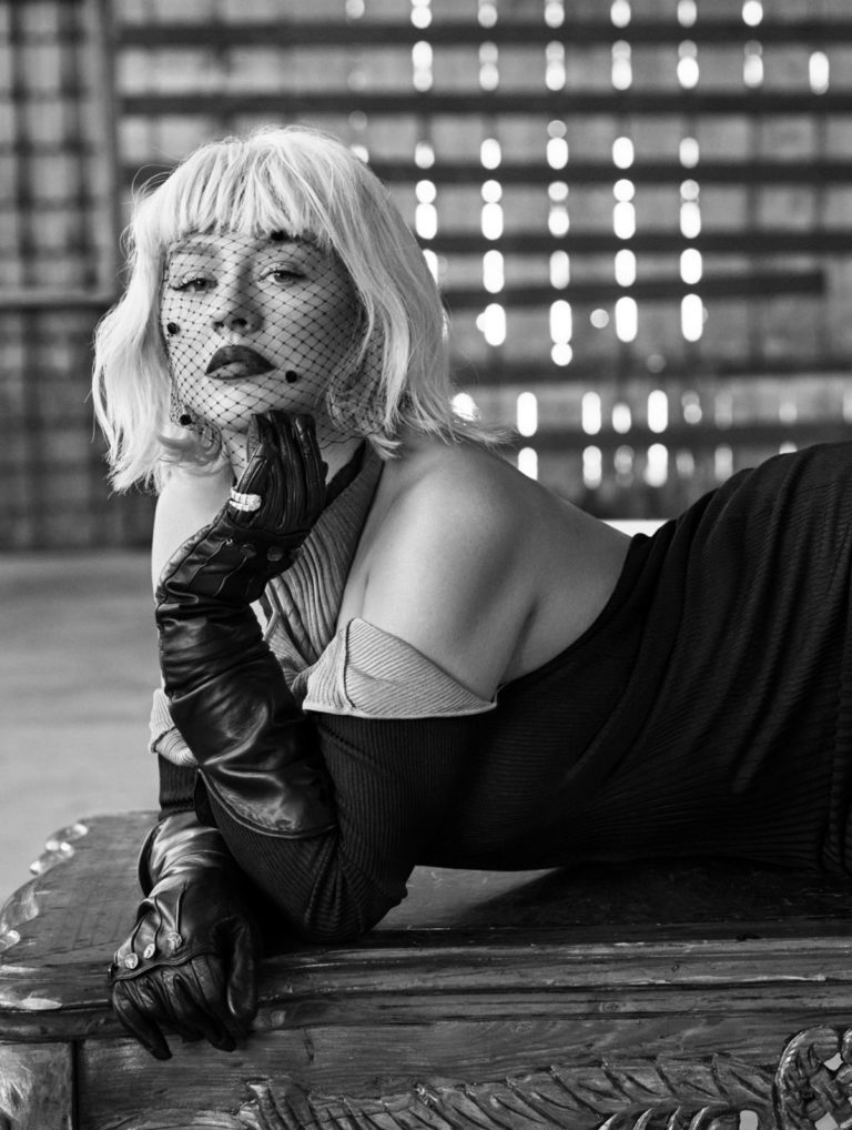 Christina Aguilera in L'Officiel Italy, Fall 2020 Issue 4