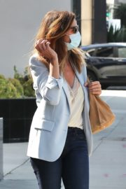 Cindy Crawford after leaves a Hair Salon in Beverly Hills 2020/09/24 1