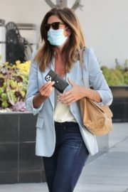 Cindy Crawford after leaves a Hair Salon in Beverly Hills 2020/09/24 8
