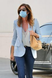 Cindy Crawford after leaves a Hair Salon in Beverly Hills 2020/09/24 10