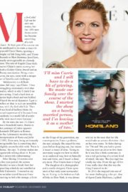 Claire Danes Photoshoot for Fairlady Magazine, November 2020 Issue 3