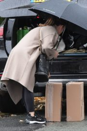 Coleen Rooney Out and About in Alderley Edge 2020/10/23 1