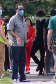 Courteney Cox on the Set of Scream 5 in Wilmington 2020/10/22 4