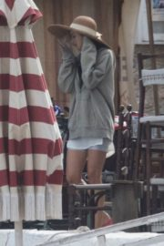 Dakota Johnson on the Set of The Lost Daughter in Greece 2020/10/20 1