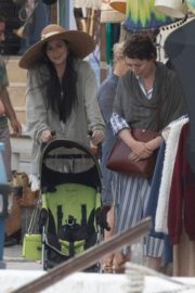 Dakota Johnson on the Set of The Lost Daughter in Greece 2020/10/20 2