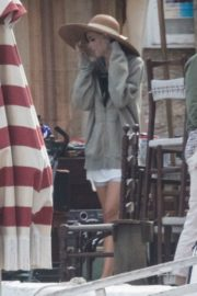 Dakota Johnson on the Set of The Lost Daughter in Greece 2020/10/20 7