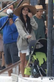 Dakota Johnson on the Set of The Lost Daughter in Greece 2020/10/20 8
