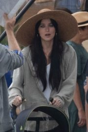Dakota Johnson on the Set of The Lost Daughter in Greece 2020/10/20 10