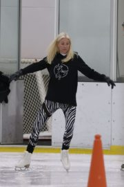 Denise van Outen at Dancing on Ice Rehearsal in London 2020/10/21 7