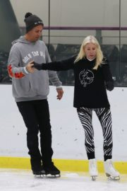 Denise van Outen at Dancing on Ice Rehearsal in London 2020/10/21 8