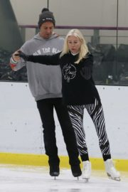 Denise van Outen at Dancing on Ice Rehearsal in London 2020/10/21 9