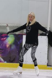 Denise van Outen at Dancing on Ice Rehearsal in London 2020/10/21 10