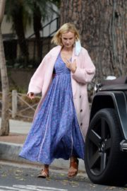 Diane Kruger Out and About in Los Angeles 2020/10/24 2