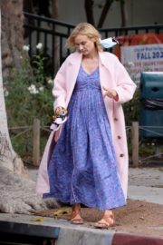 Diane Kruger Out and About in Los Angeles 2020/10/24 3