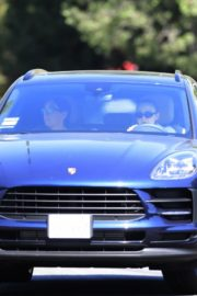 Drive Her New Porsche Out in Los Angeles 2020/09/25 7
