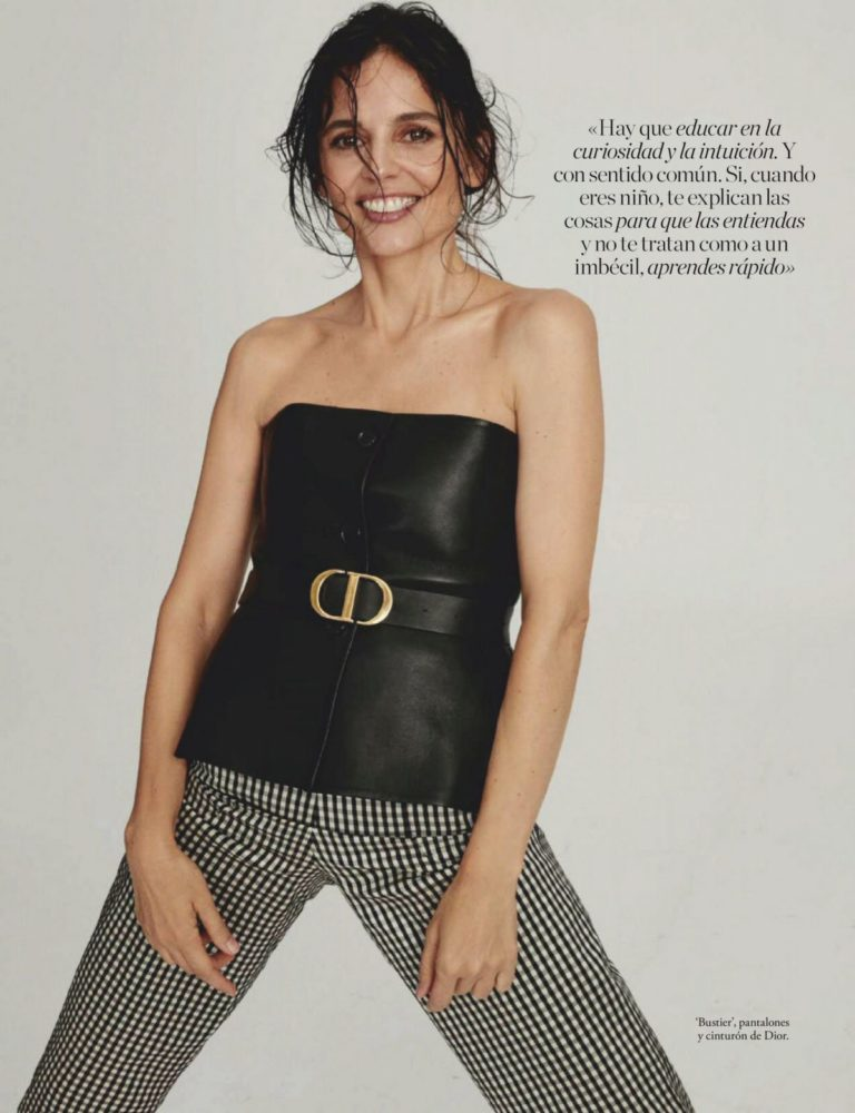 Elena Anaya in Elle Magazine, Spain October 2020 3