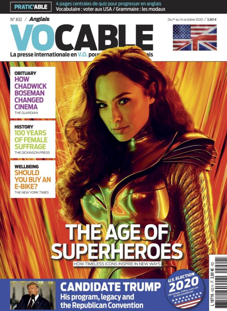 Gal Gadot in Vocable Anglais Magazine, October 2020 3