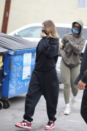 Hailey Rhode Bieber Arrives at a Spa in Los Angeles 2020/10/23 2