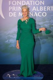 Helen Mirren's jewelry at Monte-Carlo Gala for Planetary Health 2020/09/24 2