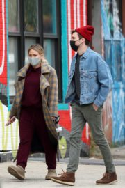 Hilary Duff and Her Husband Matthew Koma Out in New York 2020/10/25 2