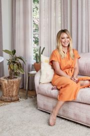 Hilary Duff in Architectural Digest Magazine, September 2020 1