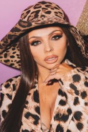 Jesy Nelson in animal printed jacket photos shared in Instagram 2020/09/22 2