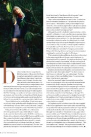Kate Bosworth in Instyle Magazine, November 2020 Issue 1